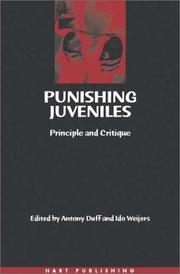 Cover of: Punishing juveniles