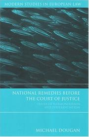 Cover of: National Remedies Before the Court of Justice