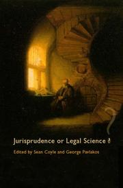Cover of: Jurisprudence or legal science? |