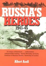 Cover of: Russia's heroes, 1941-45