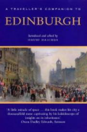 Cover of: A Traveller's Companion to Edinburgh (Travellers Companion)