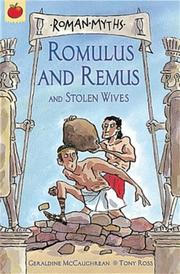 Cover of: Romulus and Remus (Orchard Myths)