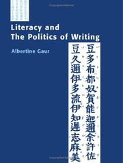 Cover of: Literacy and the politics of writing