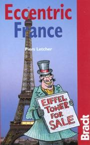Cover of: Eccentric France | Piers Letcher