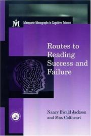 Cover of: Routes To Reading Success and Failure | Nancy E Jackson