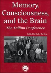 Cover of: Memory, consciousness, and the brain |