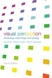 Cover of: Visual perception