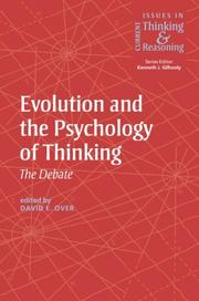 Cover of: Evolution and the psychology of thinking | [edited by] David E. Over.