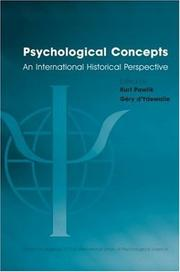 Cover of: Psychological Concepts | Kurt Pawlik