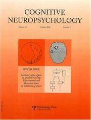 Cover of: Inhibitory After-Effects in Spatial Processing | Bartolomeo/Lupi