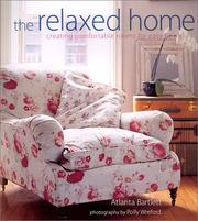 Cover of: The relaxed home