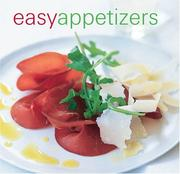 Cover of: Easy appetizers | Maxine Clark