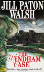 Cover of: The Wyndham Case (Imogen Quy Mysteries)