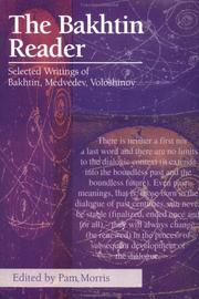 Cover of: The Bakhtin Reader
