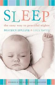 Cover of: Sleep | Beatrice Hollyer, Lucy Smith