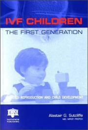 Cover of: IVF Children: The First Generation