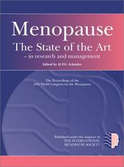 Cover of: Menopause |
