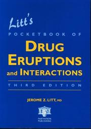 Cover of: Litt's pocketbook of drug eruptions and interactions