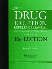Cover of: Litt's Drug Eruption Reference Manual including Drug Interactions with CD-ROM