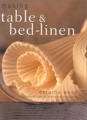 Cover of: Making Table & Bed Linen