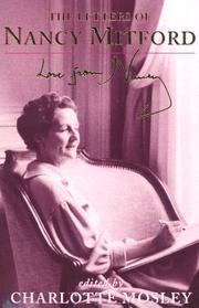 Cover of: Love from Nancy: the letters of Nancy Mitford