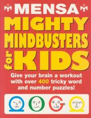 Cover of: Mensa Mighty Mindbusters for Kids