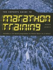 Cover of: The Expert's Guide to Marathon Training