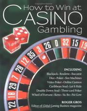 Cover of: How to Win at Casino Gambling