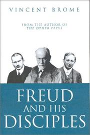 Cover of: Freud and His Disciples