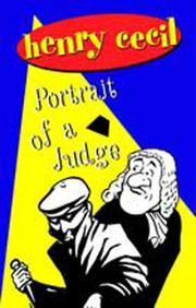 Cover of: Portrait of a Judge