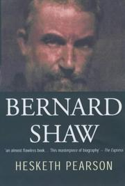 Cover of: Bernard Shaw: his life and personality.