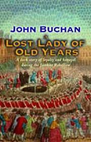 Cover of: A lost lady of old years: a romance.