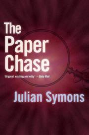 Cover of: The paper chase