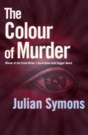 Cover of: The colour of murder