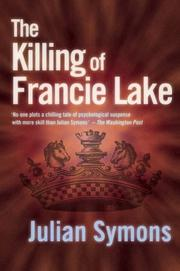 Cover of: The killing of Francie Lake