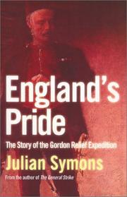 Cover of: England's Pride