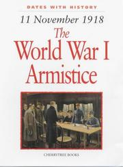Cover of: The World War I Armistice (Dates with History)