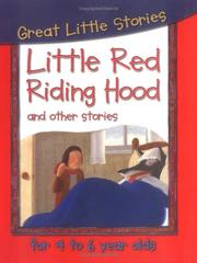 Cover of: Little Red Riding Hood and Other Stories (Great Little Stories)