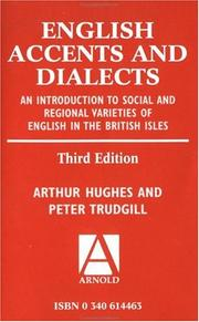 English accents and dialects by Hughes, Arthur
