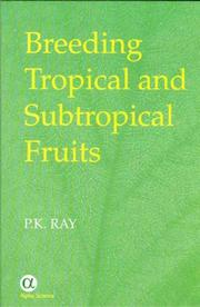 Cover of: Breeding Tropical And Subtropical Fruits