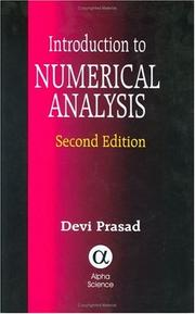 Cover of: An Introduction to Numerical Analysis | Devi Prasad.