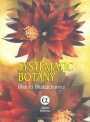 Cover of: Systematic botany