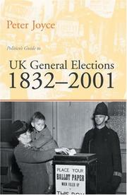 Cover of: Politico's Guide To Uk General Elections, 18322001