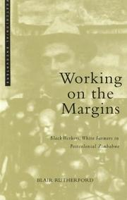Cover of: Working On the Margins | Blair Rutherford