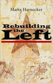 Cover of: Rebuilding the Left