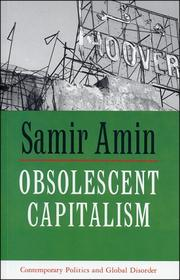Cover of: Obsolescent Capitalism | Amin, Samir.