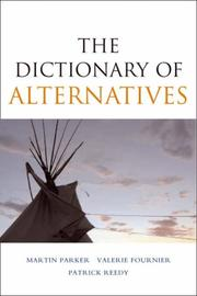 Cover of: The dictionary of alternatives
