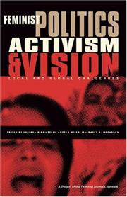 Cover of: Feminist Politics, Activism and Vision |