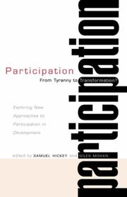 Cover of: Participation--From Tyranny to Transformation? |