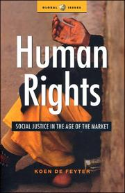 Cover of: Human rights | K. de Feyter